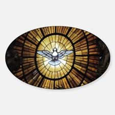 Dove Window at St Peters Basilica p Decal