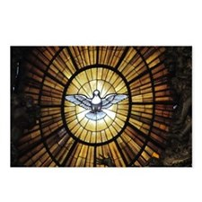 Dove Window at St Peters  Postcards (Package of 8)