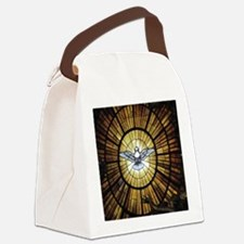 Dove Window at St Peters Basilica Canvas Lunch Bag