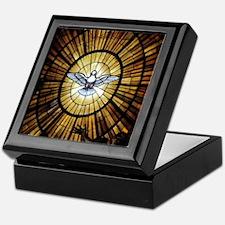 Dove Window at St Peters Basilica puz Keepsake Box