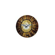 Dove Window at St Peters Basilica puzz Mini Button