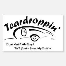 Teardrop with Words4 [Converte Sticker (Rectangle)
