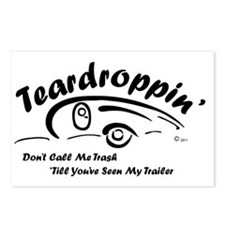 Teardrop with Words4 [Con Postcards (Package of 8)