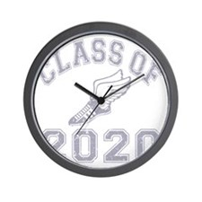 CO2020 Track Grey Distressed Wall Clock