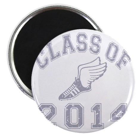 CO2014 Track Grey Distressed Magnet