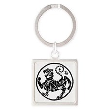 TigerOriginal5Inch Square Keychain
