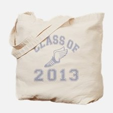 CO2013 Track Grey Distressed Tote Bag