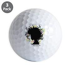 Natural Hair Golf Ball
