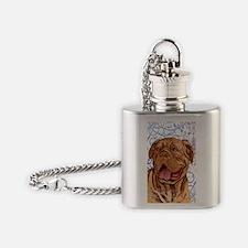dogue-key2 back Flask Necklace