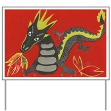 Year of the Dragon Yard Sign