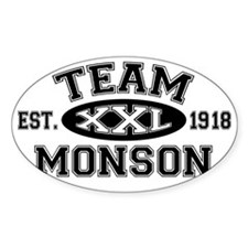 Team Monson XXL - LDS T-Shirt Decal