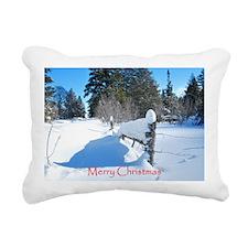 Malad Summit Rectangular Canvas Pillow