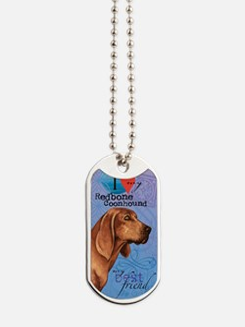 redbone-kindle Dog Tags