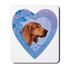 redbone-heart Mousepad