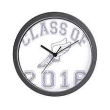 CO2016 Track Grey Distressed Wall Clock