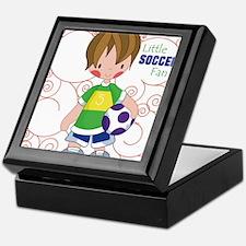 Little Soccer Fan Keepsake Box
