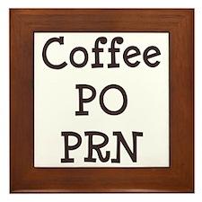 FIN-coffee-po-prn-CROP Framed Tile