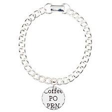FIN-coffee-po-prn-CROP Charm Bracelet, One Charm