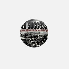 Real Success Quote o Jigsaw Puzzle Mini Button