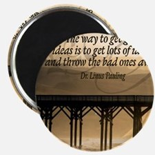 Good Ideas Quote on Jigsaw Puzzle Magnet