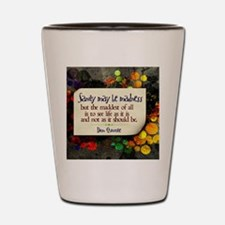See Life Quote on Jigsaw Puzzle Shot Glass