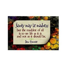 See Life Quote on Jigsaw Puzzle Rectangle Magnet