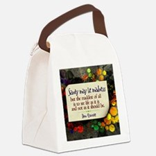 See Life Quote on Jigsaw Puzzle Canvas Lunch Bag