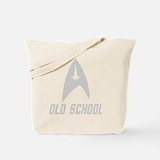 trekoldschool_white Tote Bag