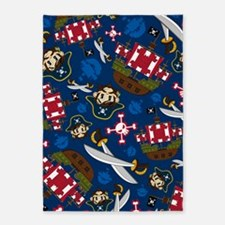 Pirate Pad15 5'x7'Area Rug