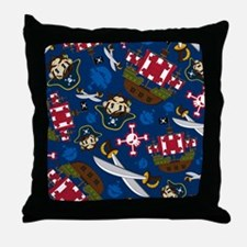 Pirate Pad15 Throw Pillow