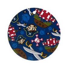 Pirate Pad15 Round Ornament