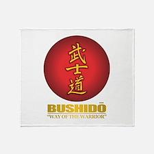 bushido Throw Blanket