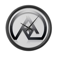 arsi_triangle_7000x7000_2 Large Wall Clock