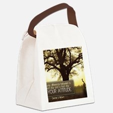 Good Day Quote on Jigsaw Puzzle Canvas Lunch Bag