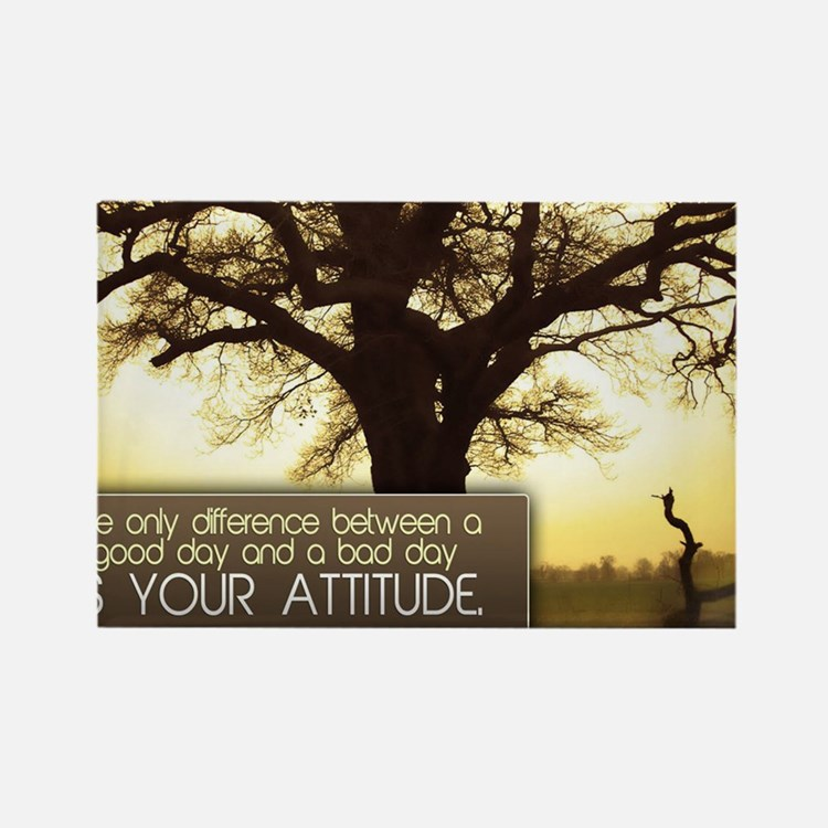 Good Day Quote on Jigsaw Puzzle Rectangle Magnet