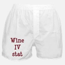 FIN-wine-iv-stat-CROP Boxer Shorts