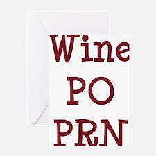 FIN-wine-po-prn-CROP Greeting Card