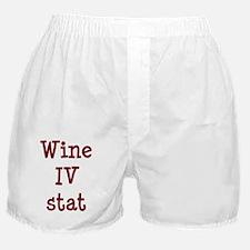 FIN-wine-iv-stat-TRANS Boxer Shorts