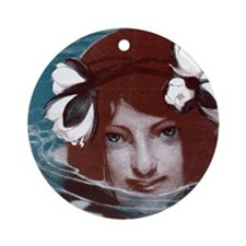 jugend water pillow Round Ornament