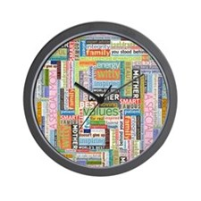 Mother 10x13 Wall Clock