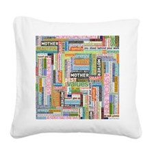 Mother 10x13 Square Canvas Pillow