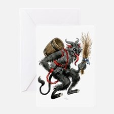 The Krampus Greeting Card