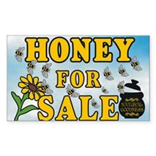 Honey for Sale Decal