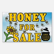 Honey for Sale Sticker (Rectangle)