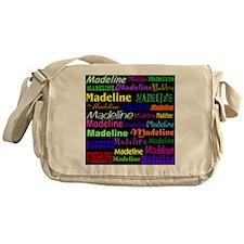 madeline-all-over-black Messenger Bag
