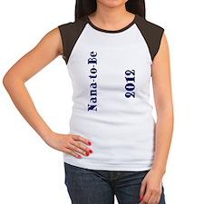FlipFlop_NanaToBe-2012 Women's Cap Sleeve T-Shirt