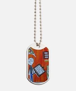 stand back Dog Tags
