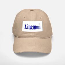 Lineman - Baseball Baseball Cap