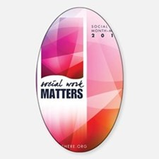SWM-Poster Sticker (Oval)