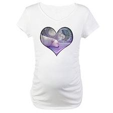 polar bear and angel cp heart Shirt